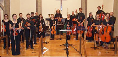 2009 New Violin Family Orchestra